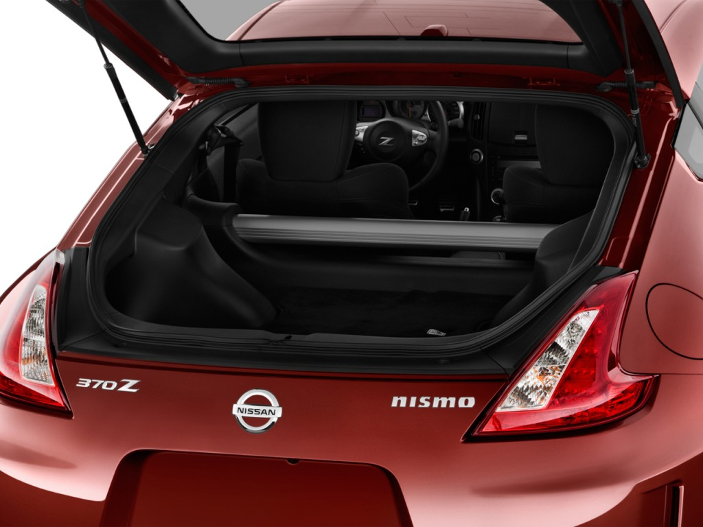Image 2013 Nissan 370z 2 Door Coupe Manual Nismo Trunk