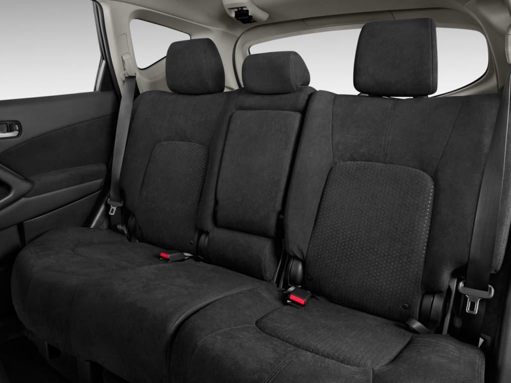 2013 Nissan Murano 2WD 4-door S Rear Seats