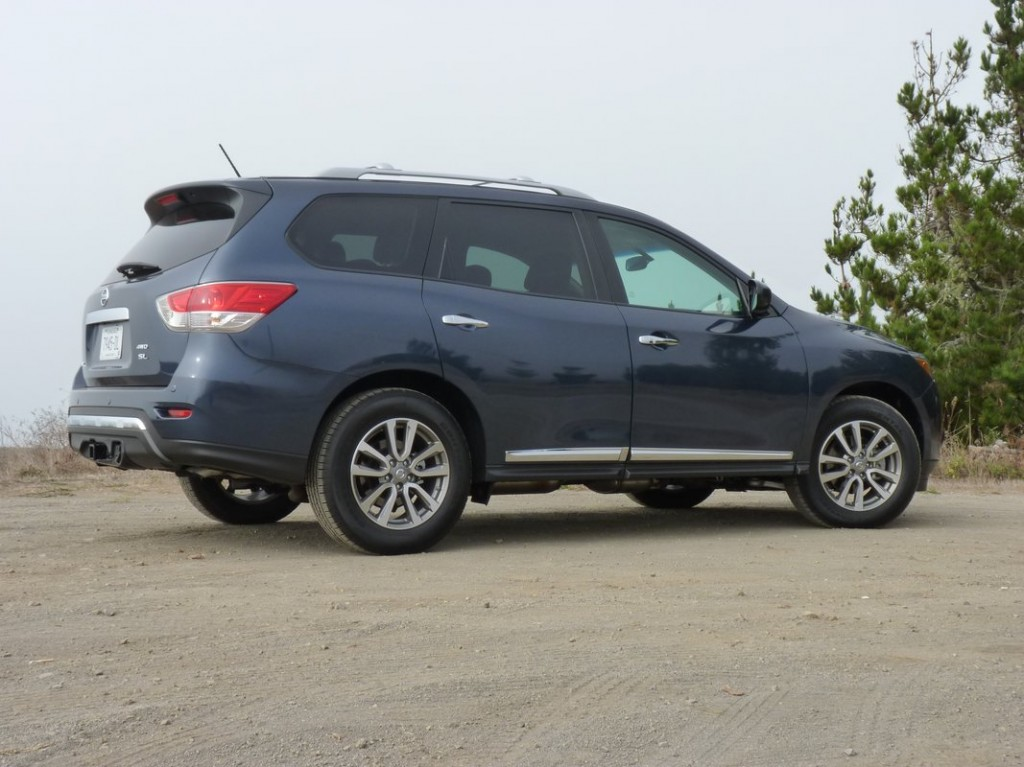 2013 Nissan Pathfinder  -  First Drive  -  10/2012