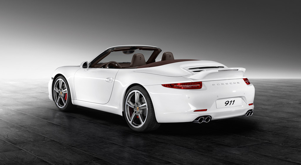 2013 Porsche 911 Carrera S Cabriolet equipped with Porsche Exclusive Aerokit