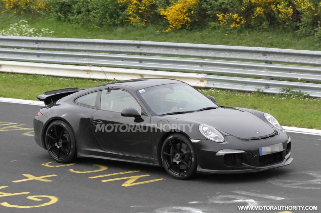 2014 porsche 911 gt3 spy video - Porsche 911 2014 Black
