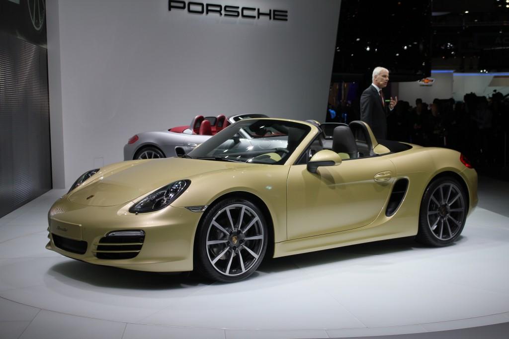 2013 Porsche Boxster live photos, 2012 Geneva Motor Show