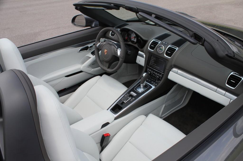 2013 Porsche Boxster S first drive photos