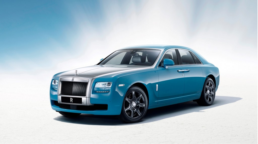 2013 Rolls-Royce Ghost Alpine Trials Centenary Collection