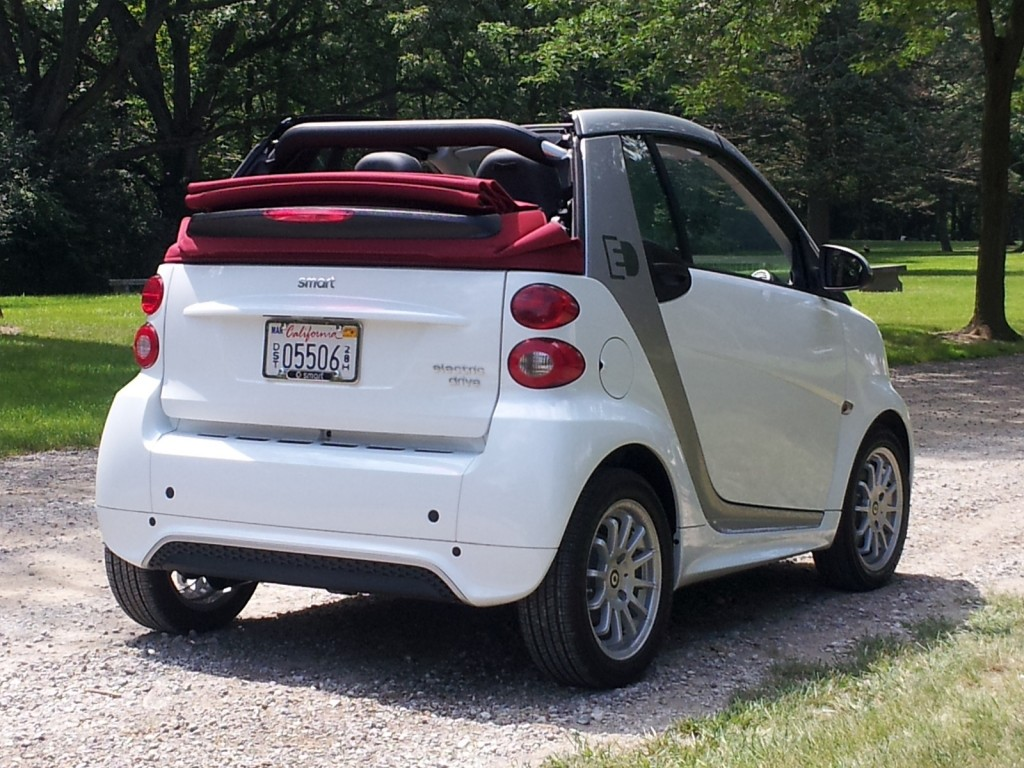2013 Smart ForTwo Electric Drive Cabrio, Ann Arbor, Michigan, Aug 2013