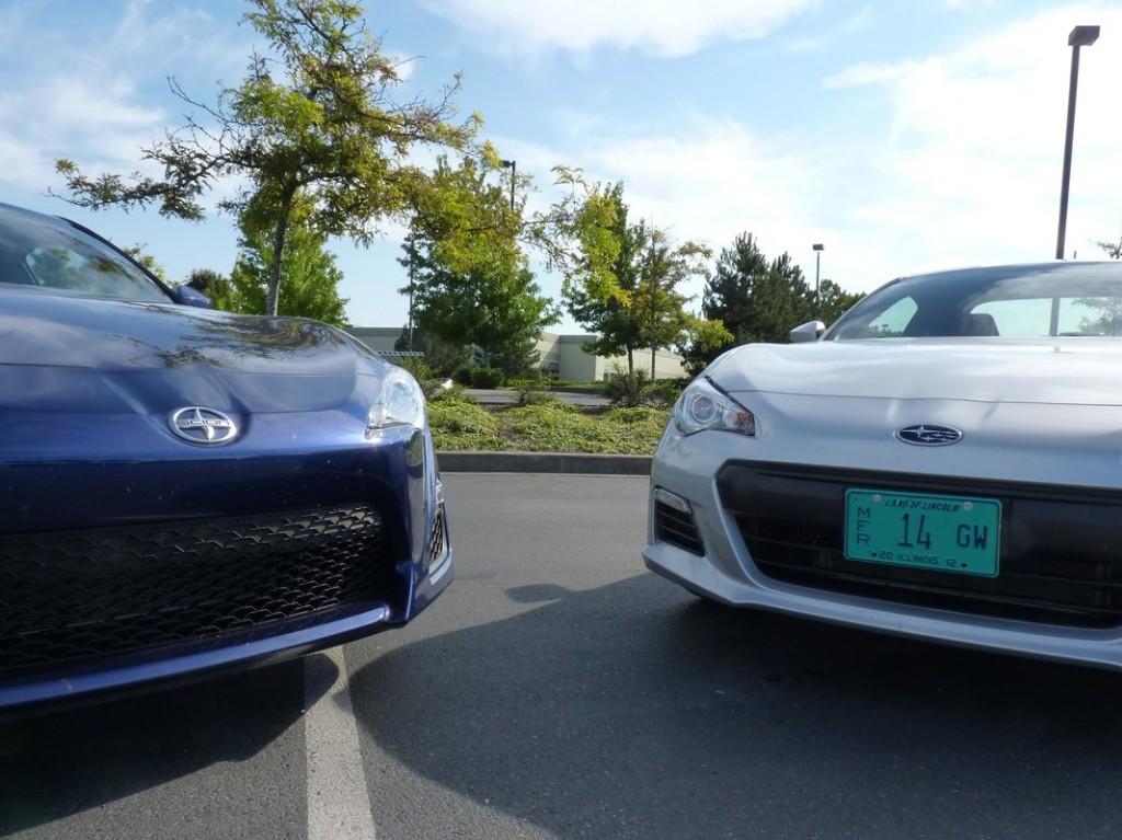 2013 Subaru BRZ and 2013 Scion FR-S