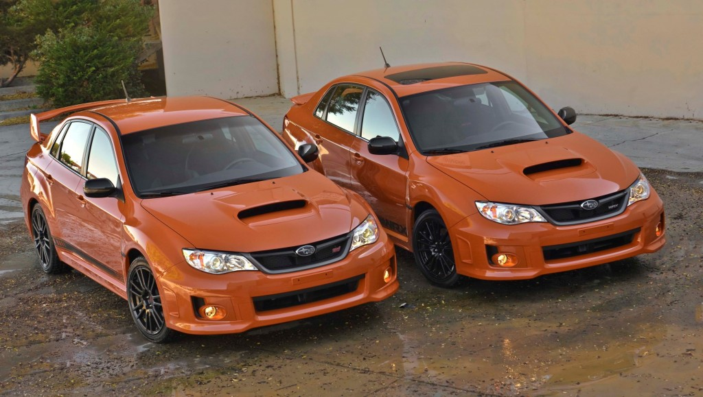 2013 Subaru WRX and STI Special Editions