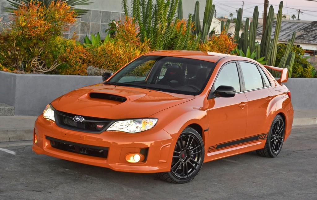 2013 Subaru WRX and STI Special Editions