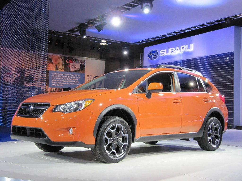 2013 Subaru XV Crosstrek, New York Auto Show, April 2012