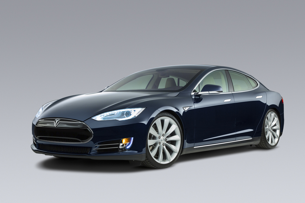 Rent A Tesla Model S At Hertz