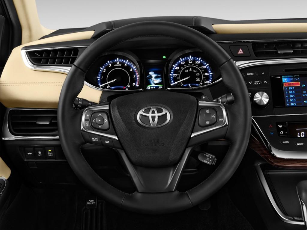 image 2013 toyota avalon 4 door sedan xle natl steering wheel size 1024. Black Bedroom Furniture Sets. Home Design Ideas