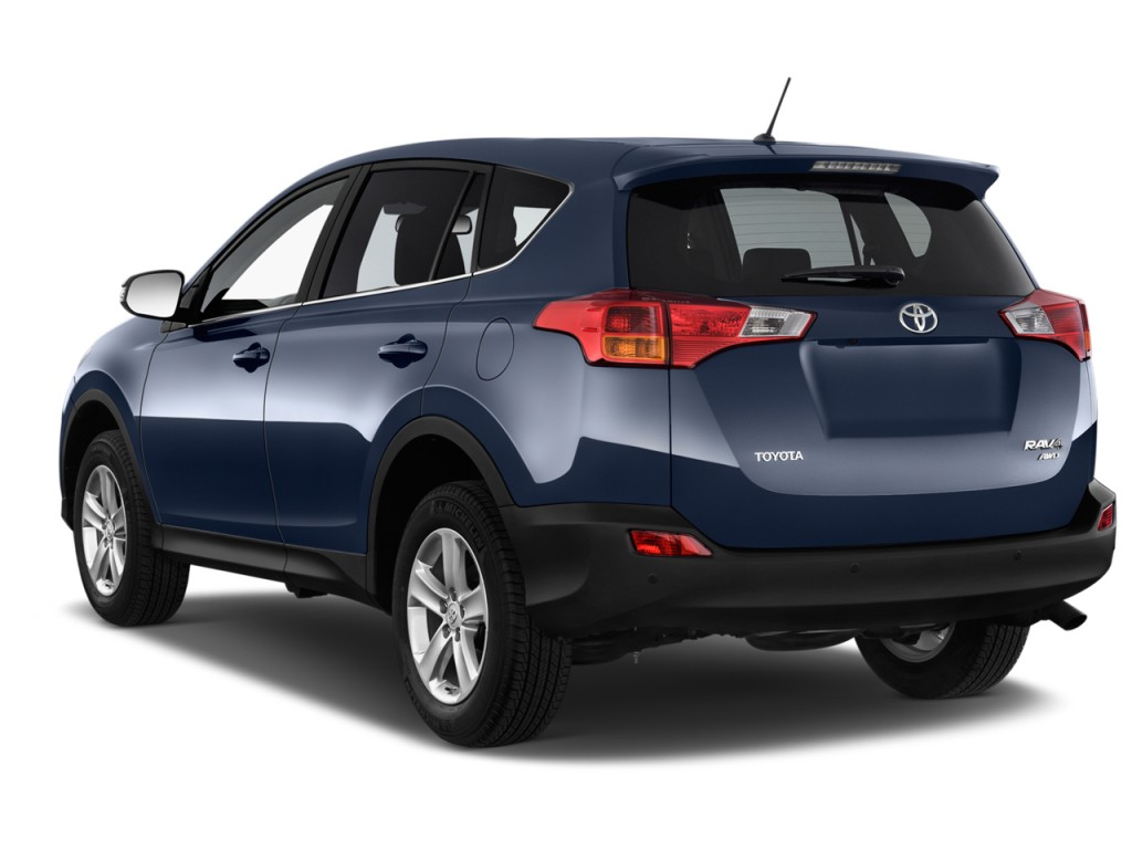 Image 2013 Toyota Rav4 Fwd 4 Door Xle Natl Angular Rear