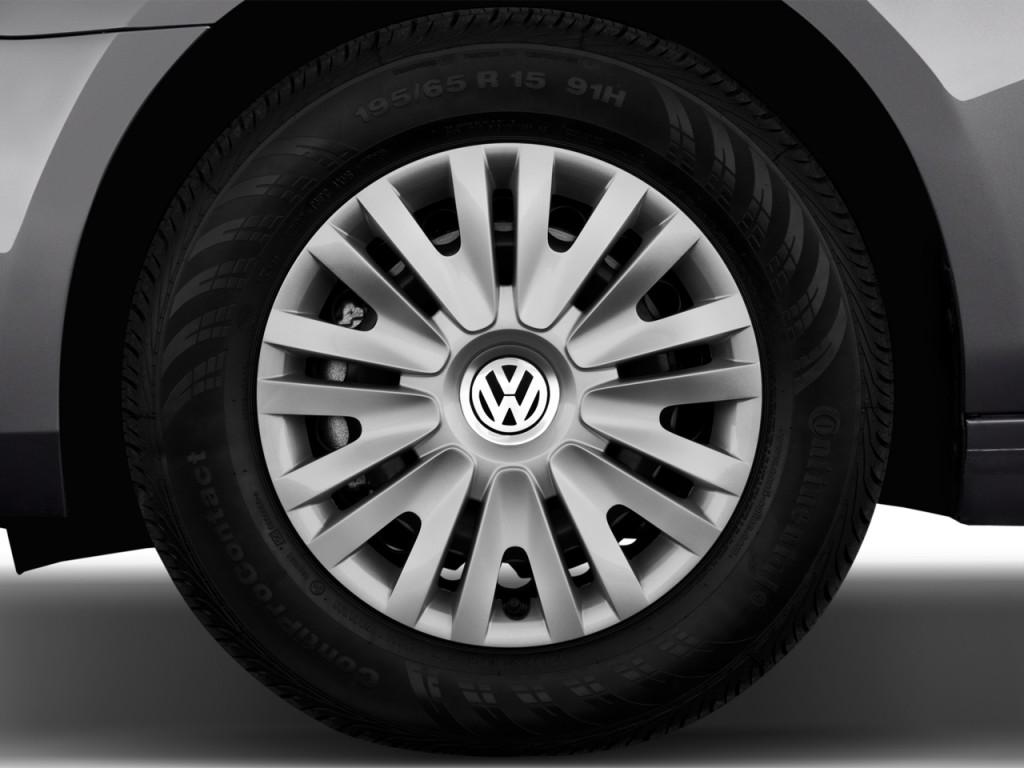 Image: 2013 Volkswagen Golf 4-door HB Auto PZEV Wheel Cap, size: 1024 ...