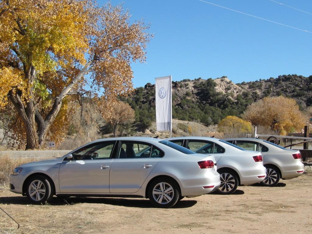 2013 Volkswagen Jetta Hybrid, Santa Fe, New Mexico, Oct 2012