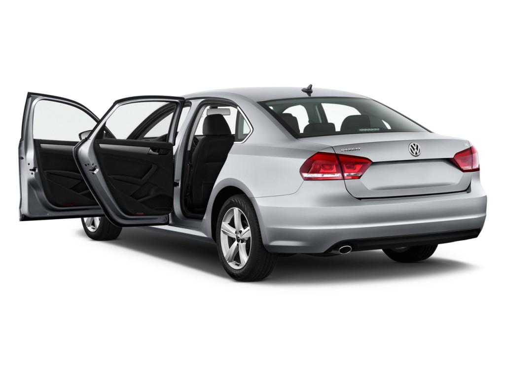 image 2013 volkswagen passat 4 door sedan 2 5l auto se. Black Bedroom Furniture Sets. Home Design Ideas