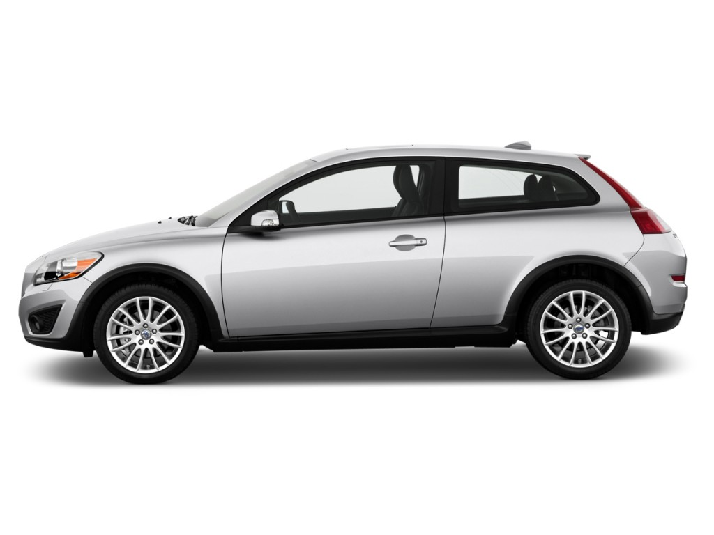 image 2013 volvo c30 2 door coupe auto side exterior view size 1024