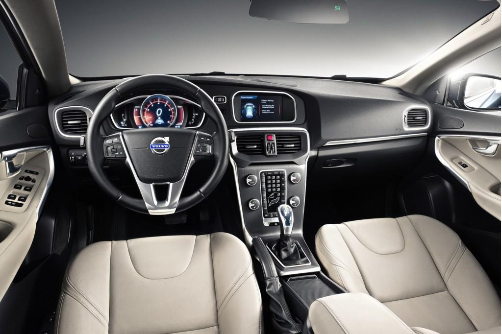 2013 Volvo V40 leaked