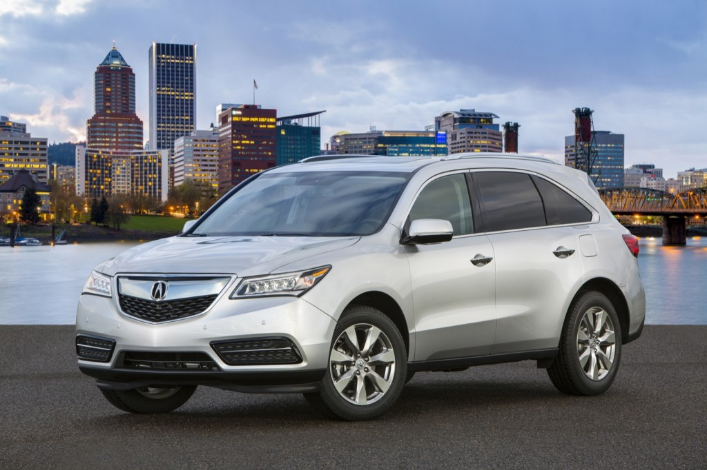 2014 Acura MDX, Acura RDX Earn Five-Star Crash Test Rating