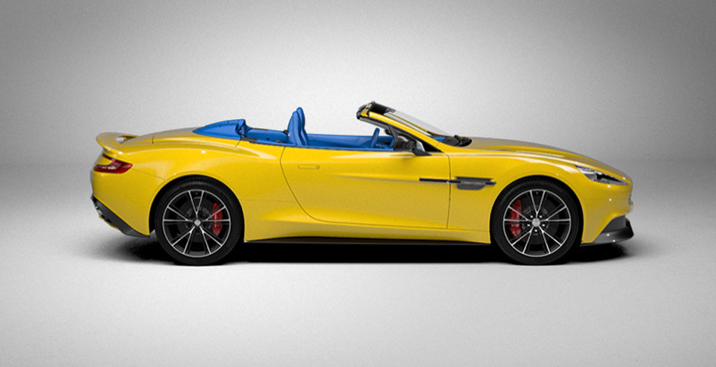 2014 Aston Martin Vanquish Volante online configurator