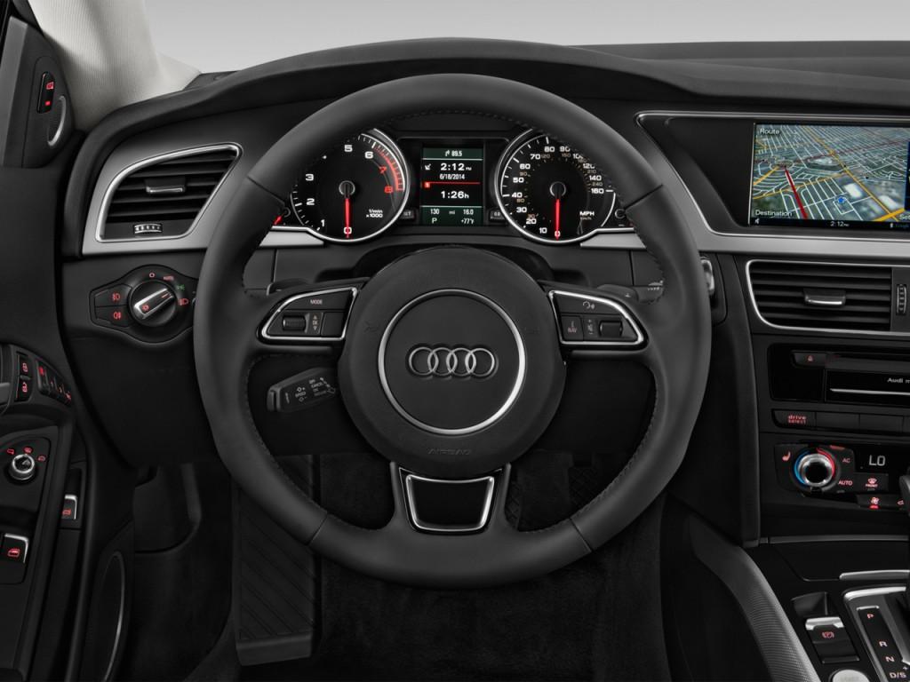 image 2014 audi a5 2 door coupe auto quattro 2 0t premium steering wheel size 1024 x 768. Black Bedroom Furniture Sets. Home Design Ideas