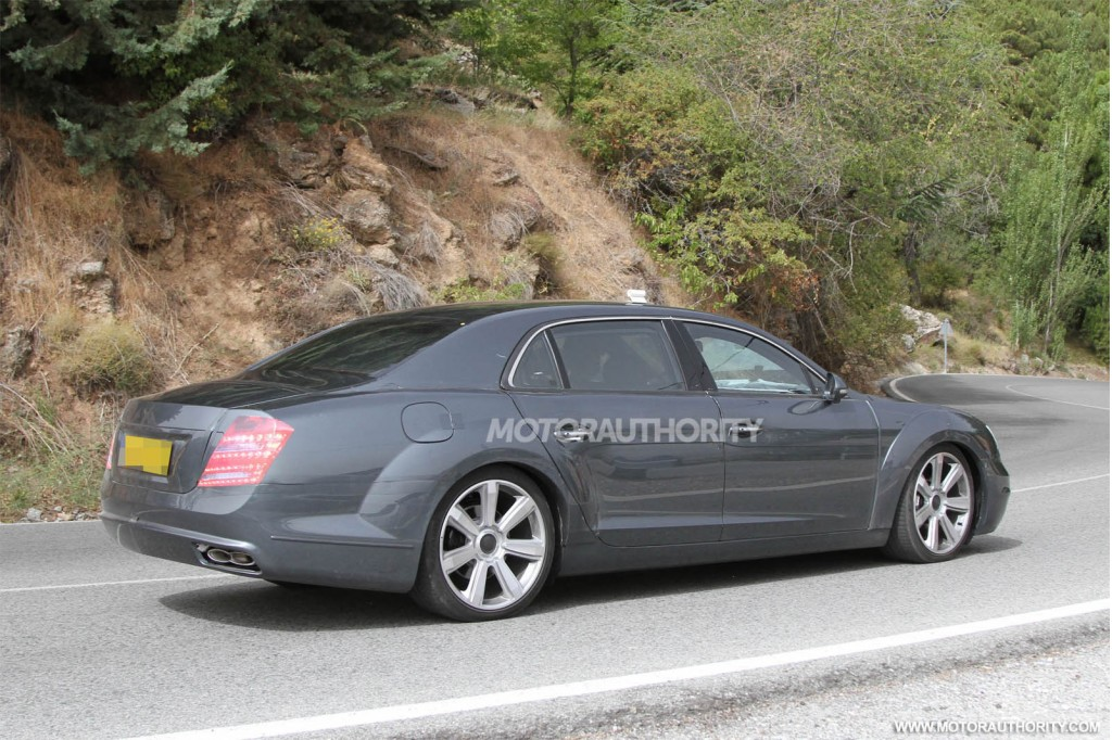 image 2014 bentley continental flying spur v8 spy shots size 1024 x 682 type gif posted on. Black Bedroom Furniture Sets. Home Design Ideas