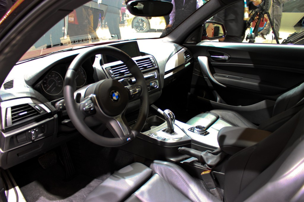 2014 BMW M235i live photos, 2014 Detroit Auto Show