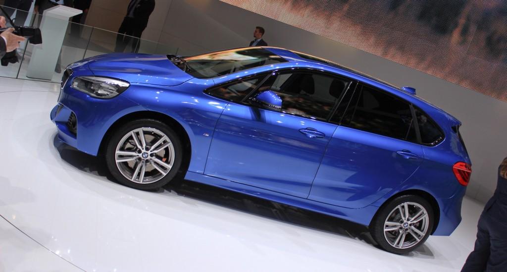 BMW 2-Series Active Tourer, 2014 Geneva Motor Show