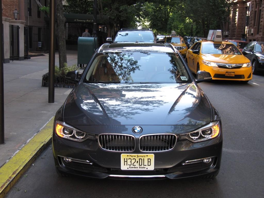 2014 BMW 328d xDrive Sport Wagon, New York City, Jun 2014