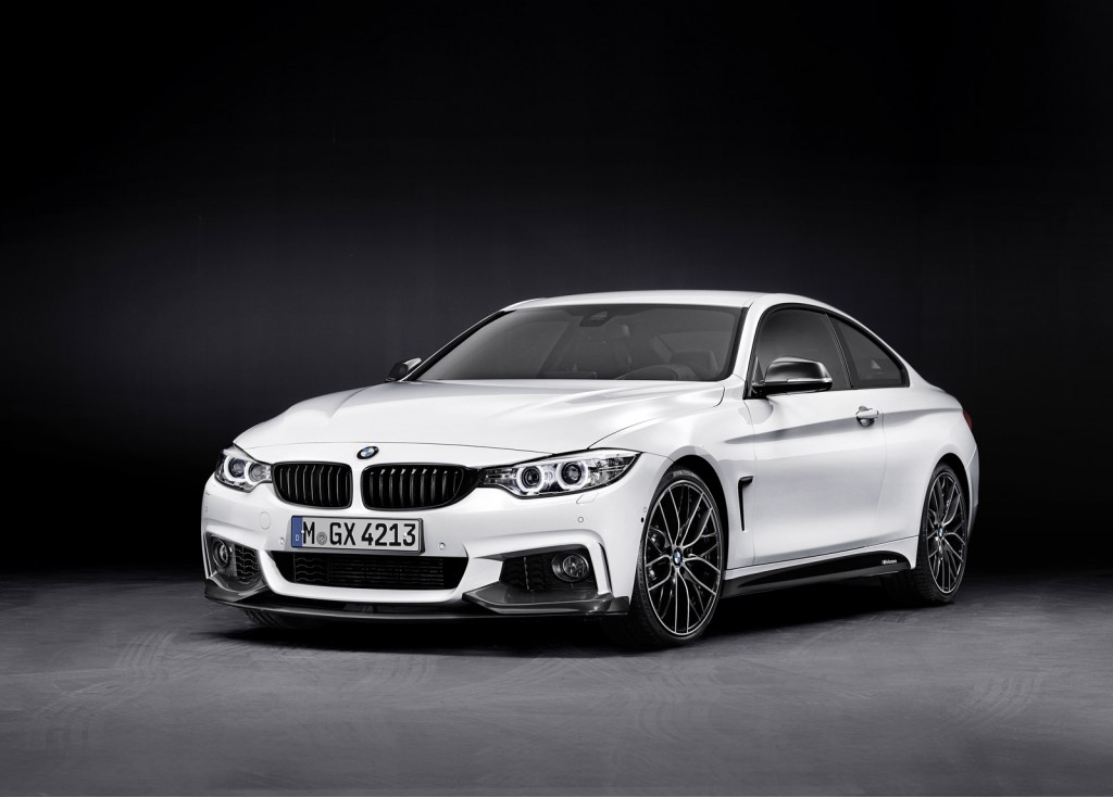 2014 BMW 4-Series fitted with M Performance accessories
