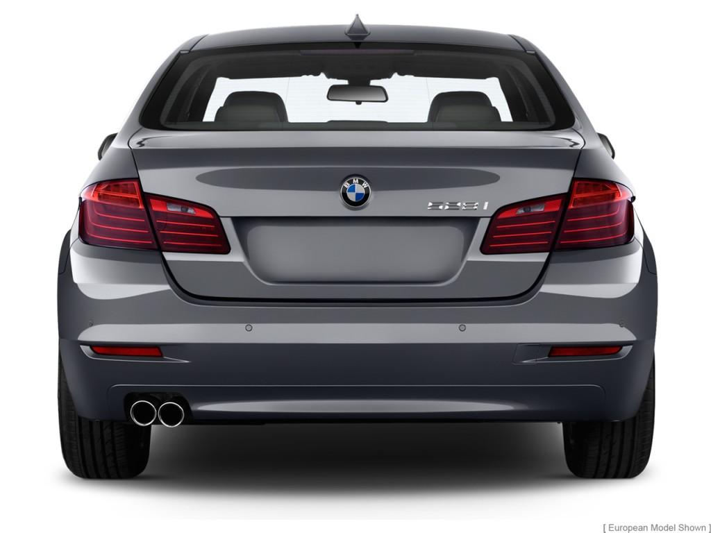 Image 2014 Bmw 5 Series 4 Door Sedan 528i Rwd Rear Exterior View Size 1024 X 768 Type Gif
