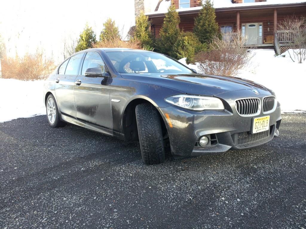 2014 BMW 535d xDrive, Catskill Mountains, Feb 2014