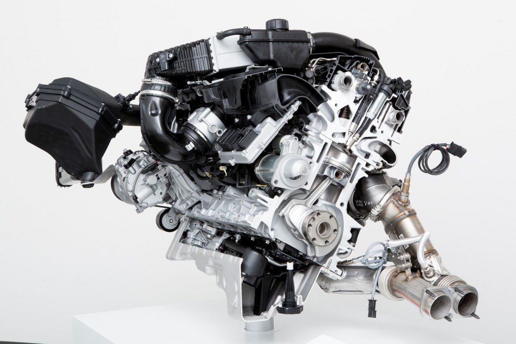 2014 BMW M3 and M4 engine technology