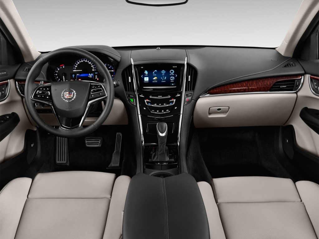 Image: 2014 Cadillac ATS 4-door Sedan 2.0L RWD Dashboard, size: 1024 x 768, type: gif, posted on ...