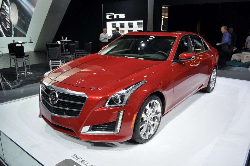 2014 Cadillac CTS Live Photos