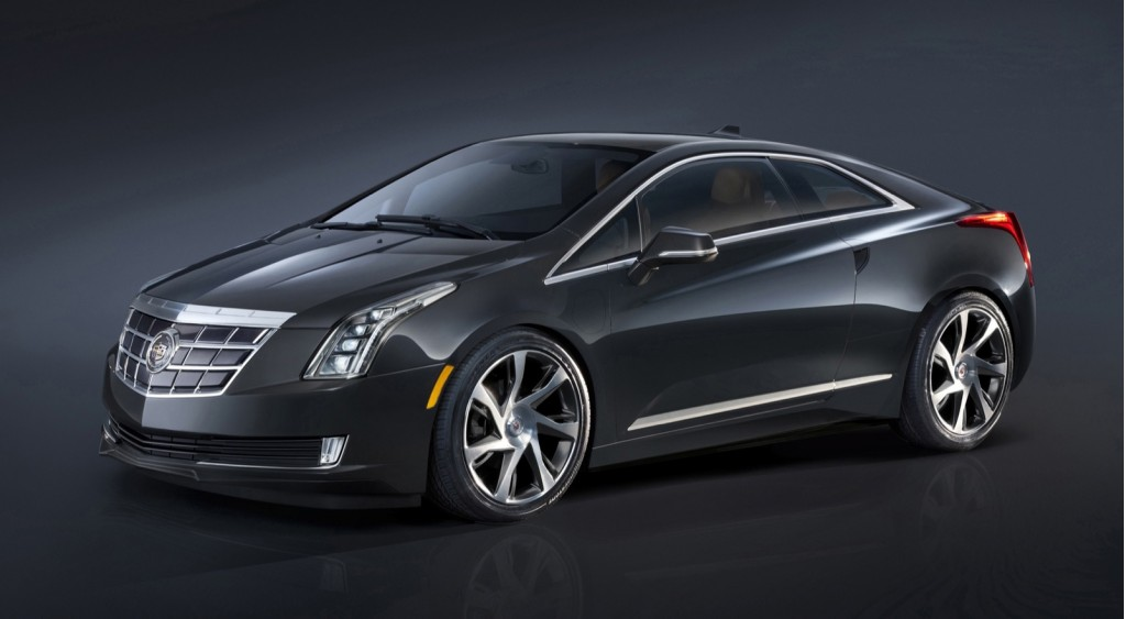 2014 Cadillac ELR: Volt-Based Coupe Plugs In At Detroit Auto Show