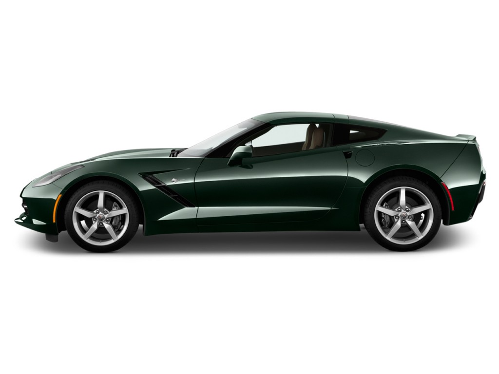 image 2014 chevrolet corvette 2 door z51 coupe w 2lt side exterior view size 1024 x 768 type