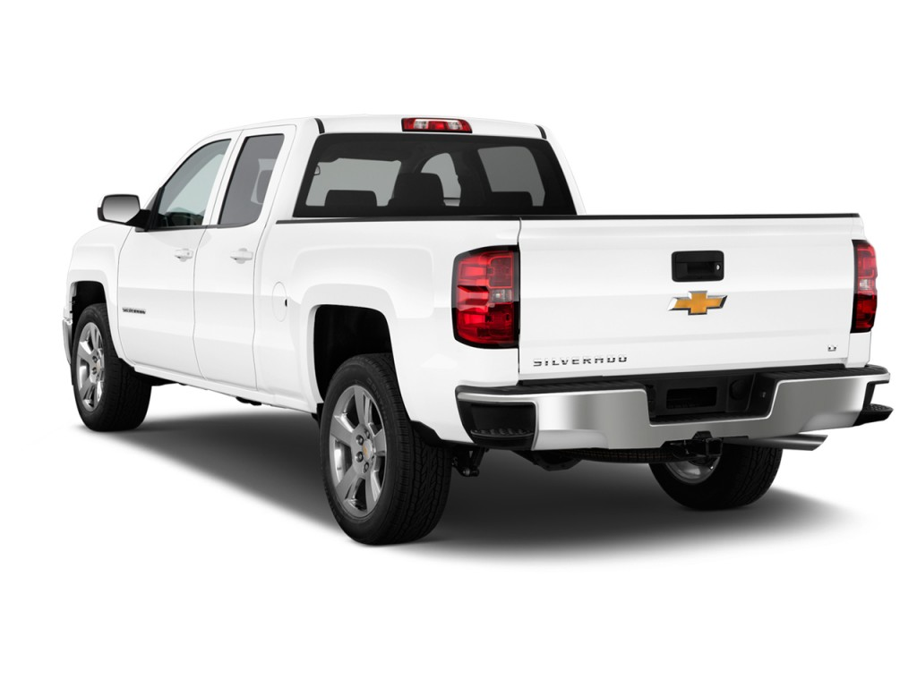 Image 2014 Chevrolet Silverado 1500 2wd Double Cab 143 5 Quot Lt W 1lt Angular Rear Exterior View
