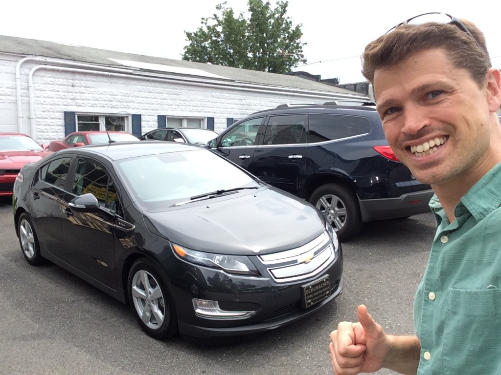 2014 Chevrolet Volt with owner Ben Rich