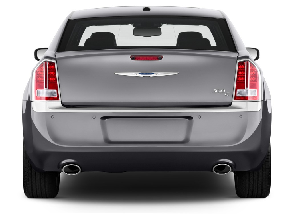 Image: 2014 Chrysler 300 4-door Sedan AWD Rear Exterior ...