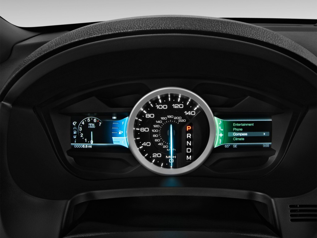 2014 Ford Explorer For Sale >> Image: 2014 Ford Explorer FWD 4-door XLT Instrument Cluster, size: 1024 x 768, type: gif, posted ...
