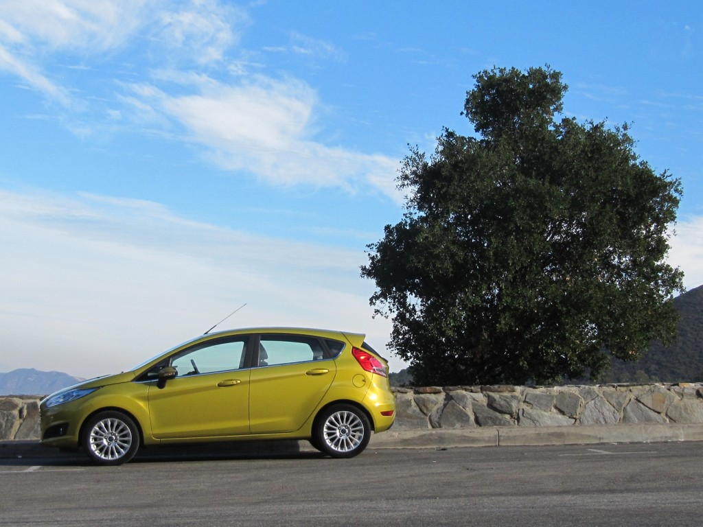 2014 Ford Fiesta: EcoBoost (European version)