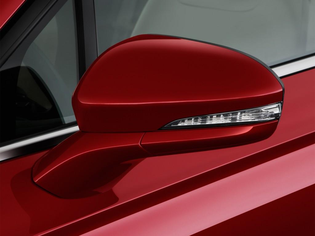 Image 2014 Ford Fusion 4 Door Sedan Se Hybrid Fwd Mirror