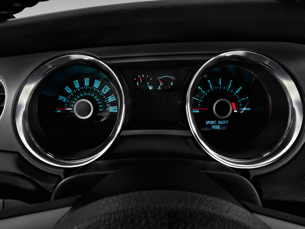 Image 2014 Ford Mustang 2 Door Coupe V6 Instrument Cluster Size 1024 X 768 Type Gif Posted