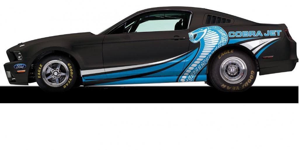 2014 ford mustang cobra jet details announced - Ford Mustang Cobra Jet Engine
