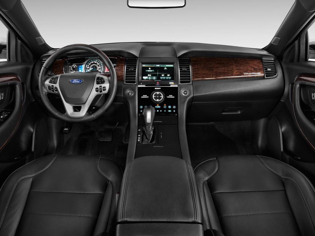 taurus ford limited dashboard sho fwd sedan door ecoboost turbo interior inside specs cars interiors motortrend trend motor