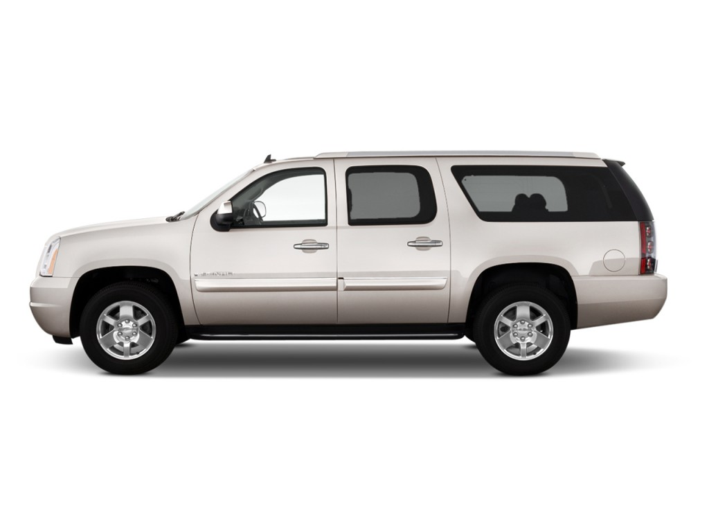 image 2014 gmc yukon xl 2wd 4 door 1500 denali side. Black Bedroom Furniture Sets. Home Design Ideas