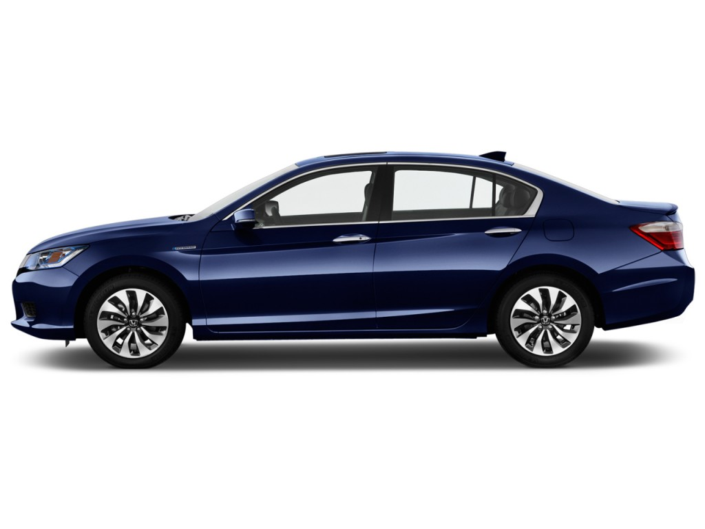 Image 2014 honda accord hybrid 4 door sedan side exterior for 2014 honda accord sedan