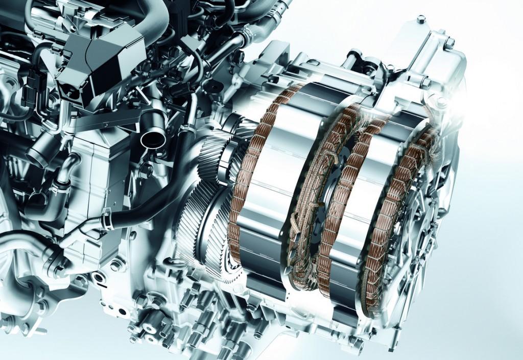 2014 Honda Accord Hybrid motor system