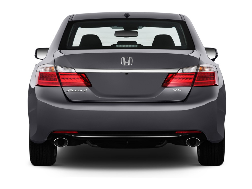 Image 2014 Honda Accord Sedan 4 Door V6 Auto Ex L Rear