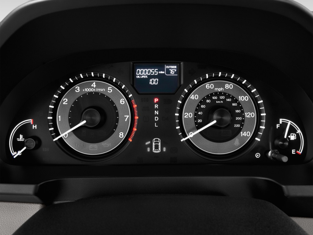 2016 Honda Element >> Image: 2014 Honda Odyssey 5dr EX-L Instrument Cluster, size: 1024 x 768, type: gif, posted on ...